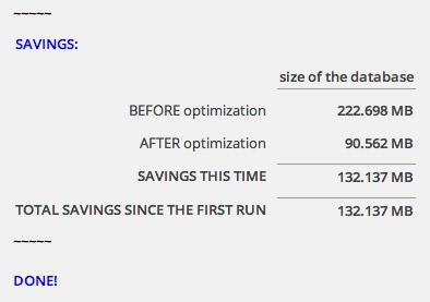 Optimize Database Results