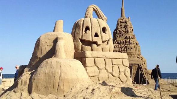 """Point Beach, """"Sandy Castle"""" 2013"""