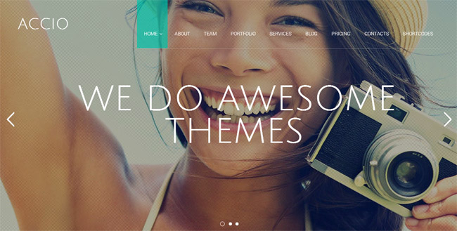 Accio WordPress Theme