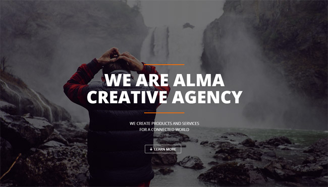 Alma WordPress Theme