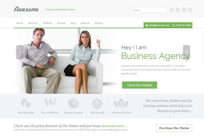 Awesome WordPress Theme