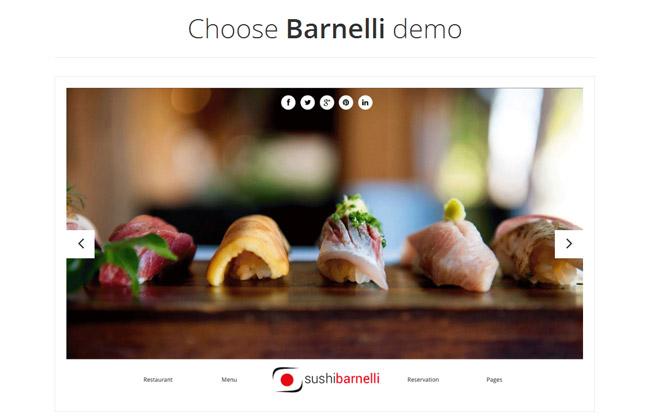 Barnelli WordPress Theme