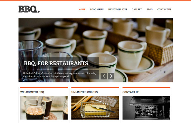 BBQ WordPress Theme