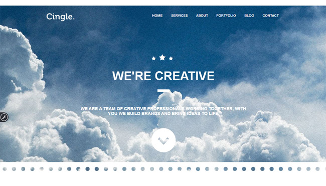 Cingle WordPress Theme