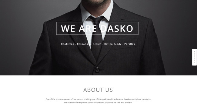 Dasko WordPress Theme