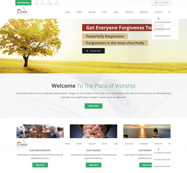 Deeds WordPress Theme