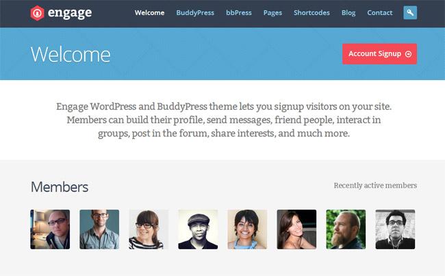 Engage WordPress Theme
