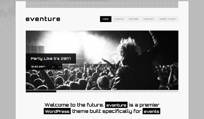 Eventure WordPress Theme