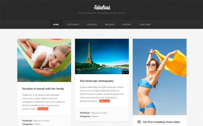 Fabulous WordPress Theme