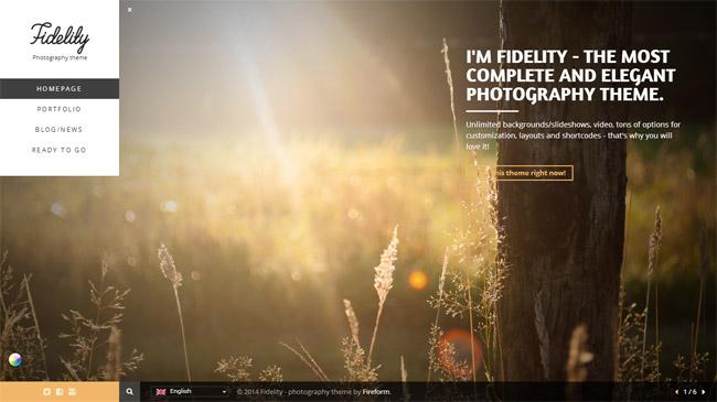 Fidelity WordPress Theme