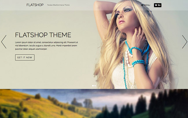 Flatshop WordPress Theme