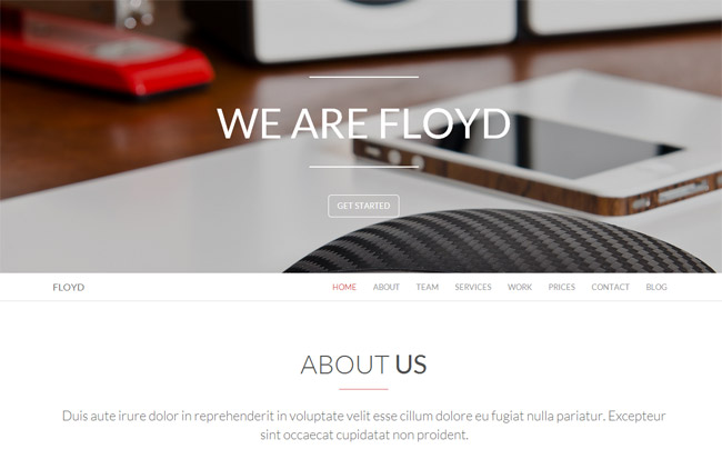 Floyd WordPress Theme