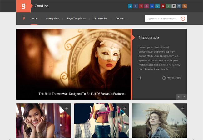 GoodInc WordPress Theme