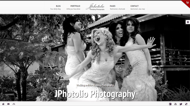 JPhotolio WordPress Theme
