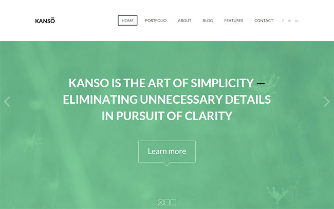 Kanso WordPress Theme