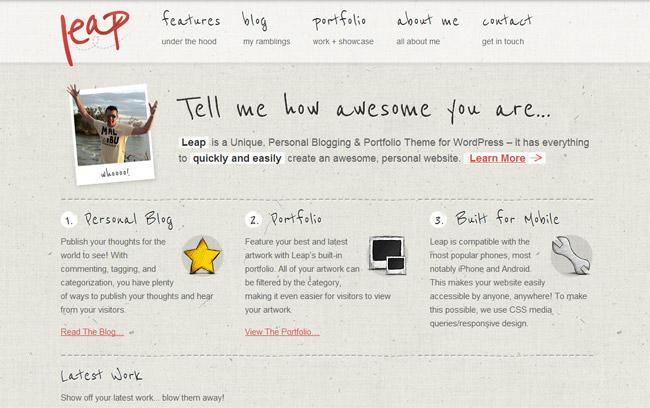 Leap WordPress Theme