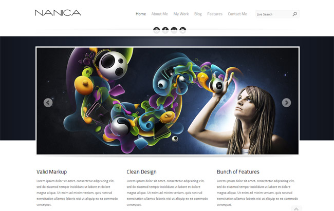 NANICA WordPress Theme