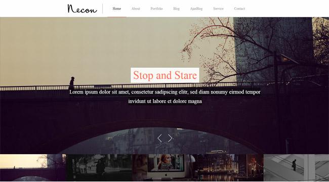 Necon WP WordPress Theme