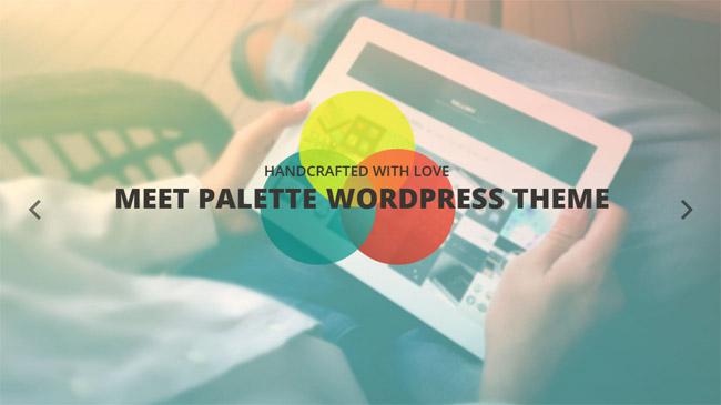 Palette WordPress Theme