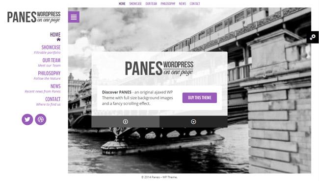 Panes WordPress Theme