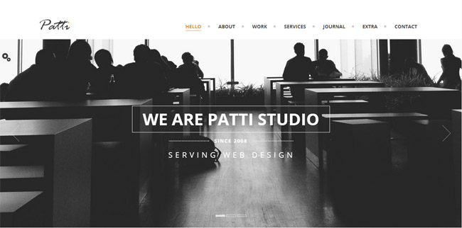 Patti WordPress Theme