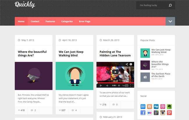 Quickly WordPress Theme