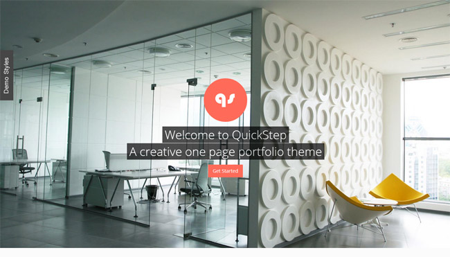 QuickStep WordPress Theme