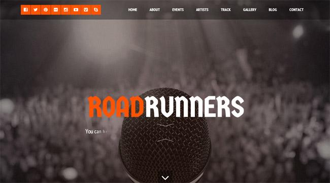 RoadRunners WordPress Theme