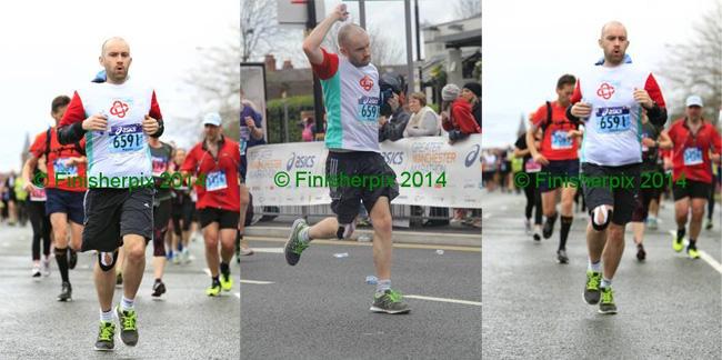 Running Manchester Marathon