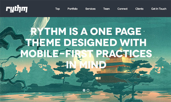 Rythm WordPress Theme