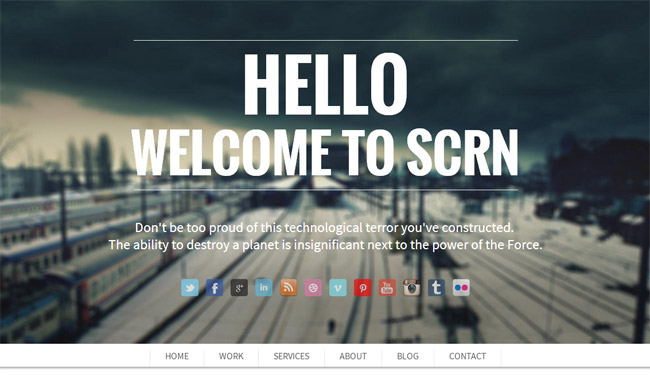 SCRN WordPress Theme