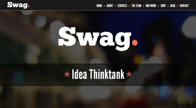 Swag WordPress Theme