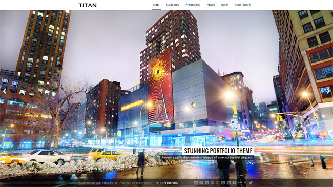 Titan WordPress Theme