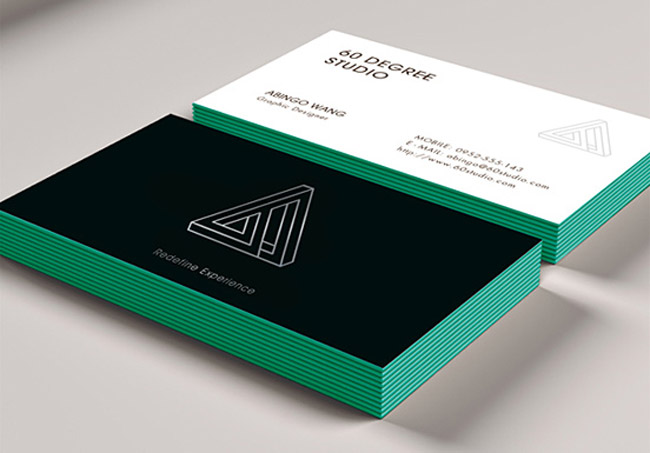 60 DEGREE STUDIO Business Card