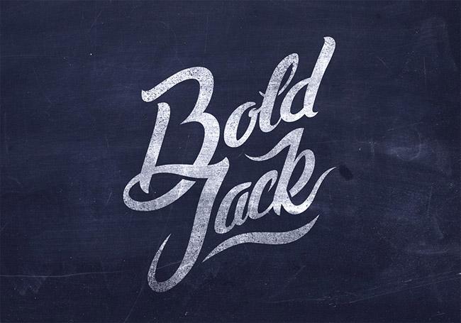 Bold Jack lettering Logo