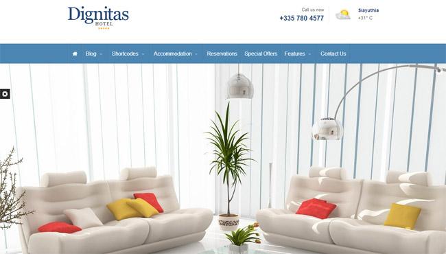 Dignitas WordPress Theme