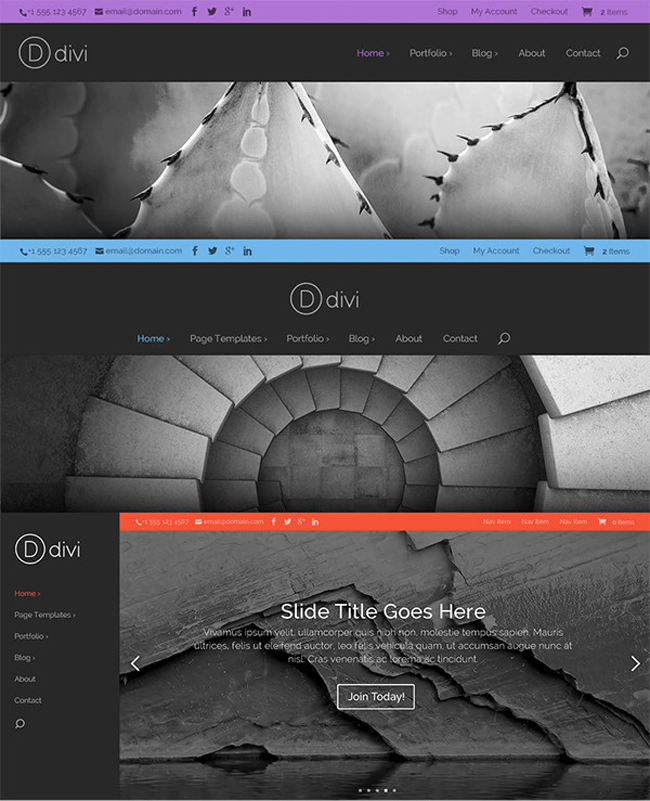 An Example of Divi 2.0