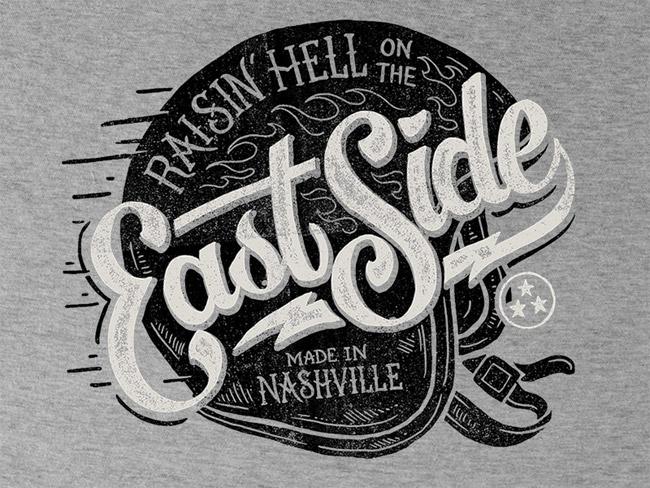 East Side - Tee Design Logo