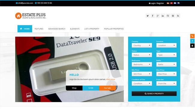 Estate Plus WordPress Theme