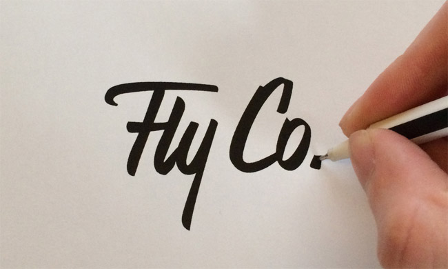 Fly Co. Aerial Photography Logo