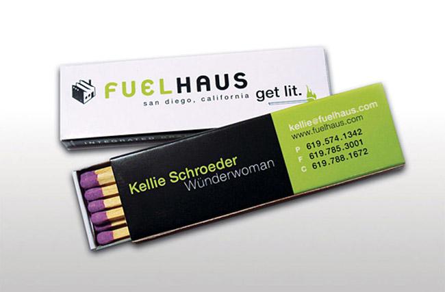 Fuelhaus Business Cards