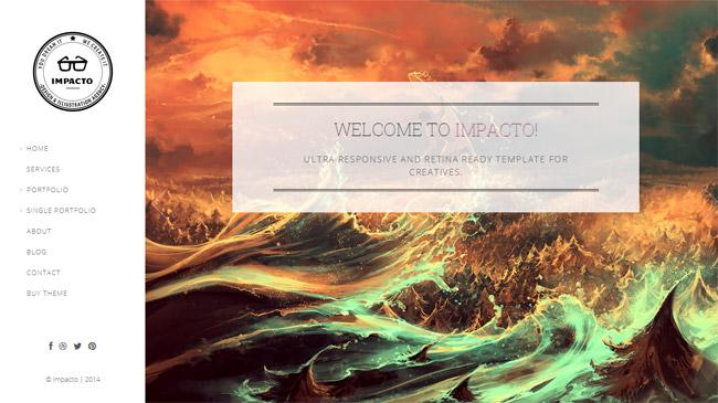 Impacto WordPress Theme