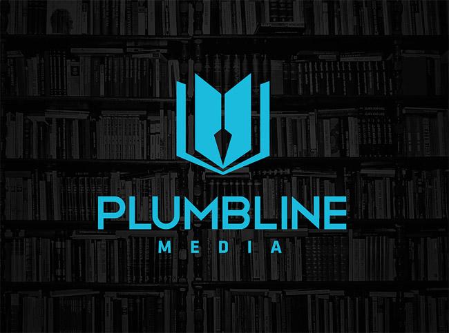 Plumbline Media Identity Logo