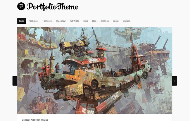 Portfolio Theme WordPress Theme
