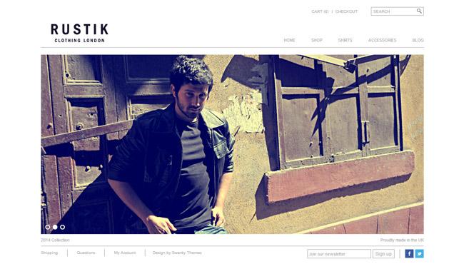 Rustik WordPress Theme