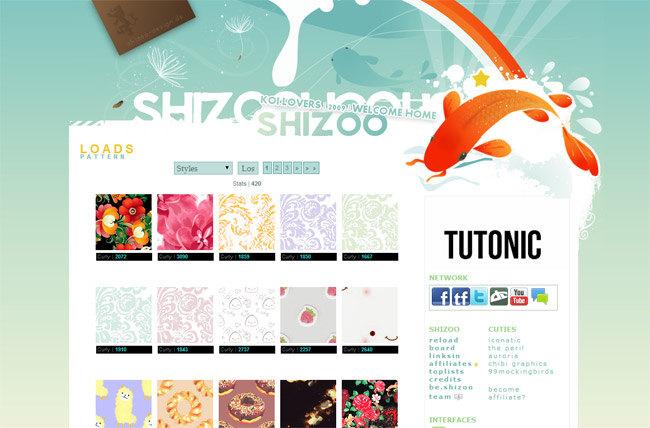 Shizoo Background Patterns