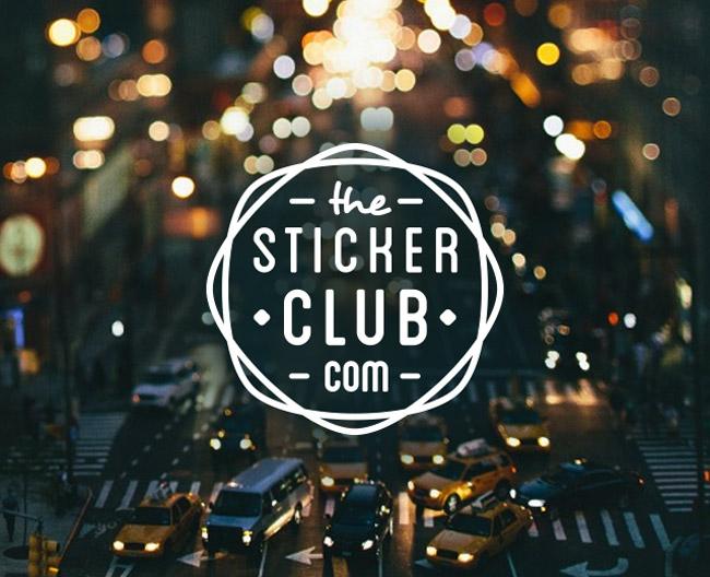 The Sticker Club logo