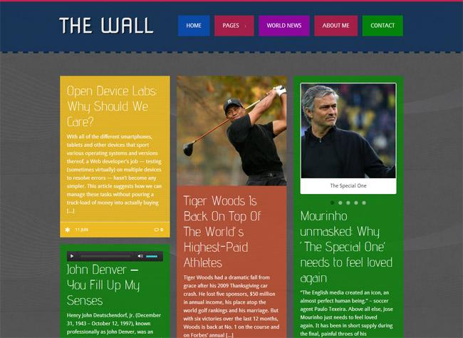 The Wall WordPress Theme