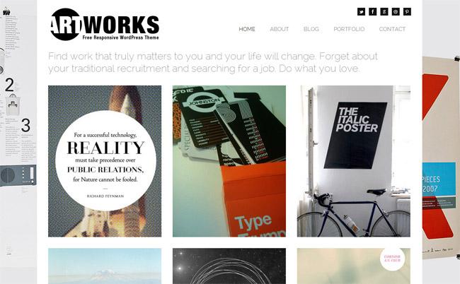 Art Works WordPress Theme