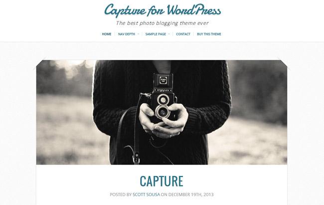 Capture WordPress Theme